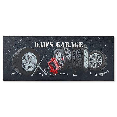 Garage Auto Double-Width Personalized Doormat