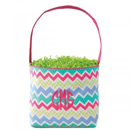 Personalized Fabric Easter Buckets