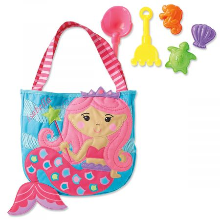 Personalized Mermaid Beach Tote by Stephen Joseph®