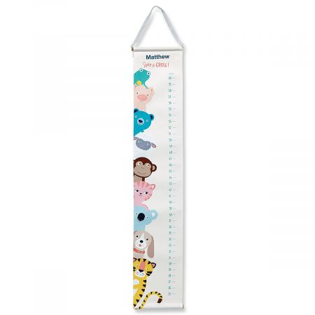 Personalized Keepsake Growth Chart from Cupcakes & Cartwheels®