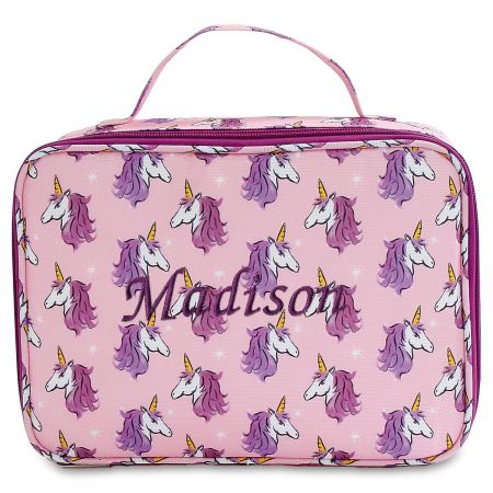 Personalized Unicorn Faces Lunch Bag