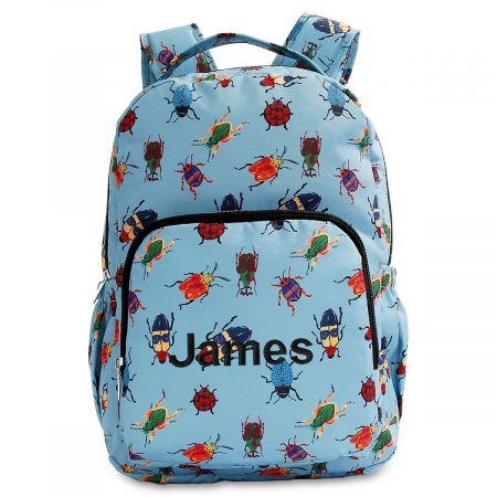 Personalized Bugs Backpack