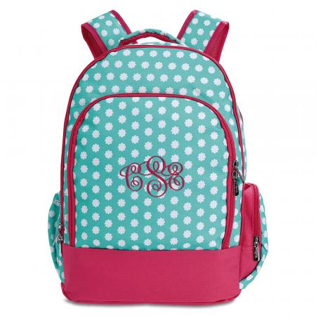 Personalized Hadley Bloom Backpack – Monogram