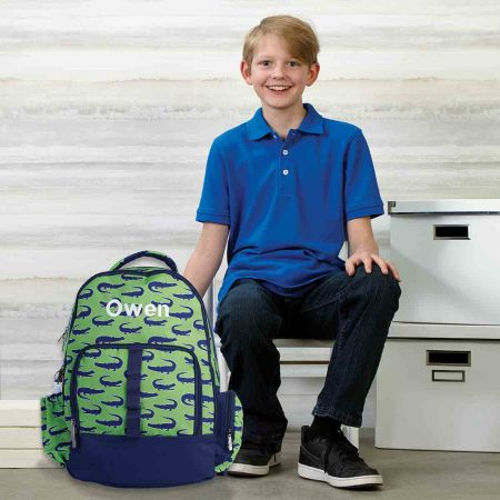 Personalized Gator Backpack