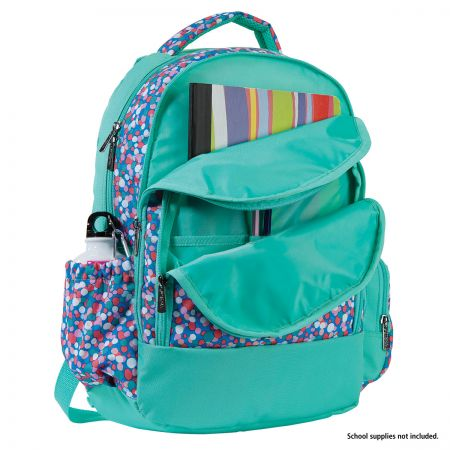 Personalized Confetti Pop Backpack