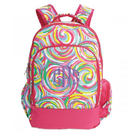Personalized Sorbet Backpack – Monogram