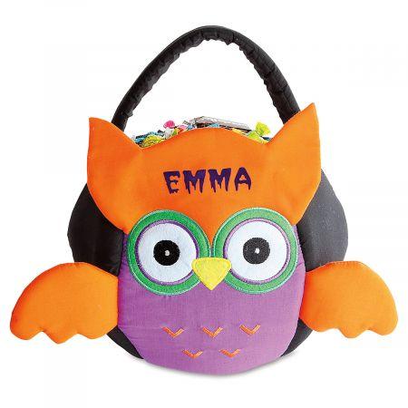 Personalized Owl Treat Basket
