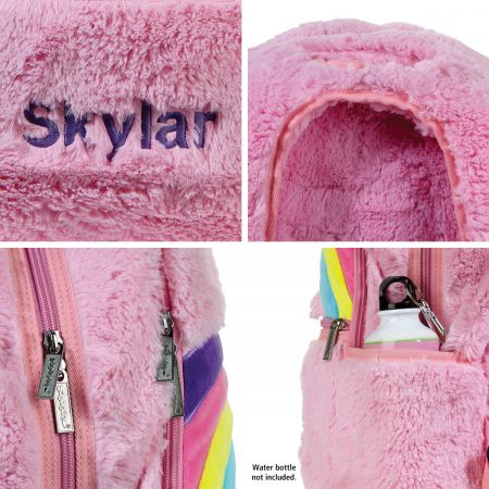 Personalized Furry Shooting Star Backpack