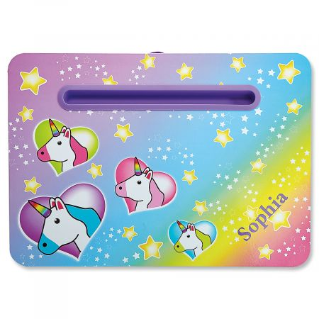 Personalized Unicorn Lap Desk