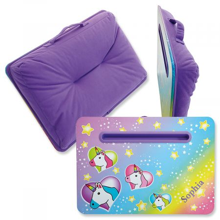 Personalized Unicorn Lap Desk