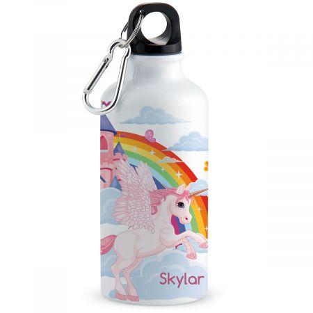 Personalized Unicorn Water Bottle