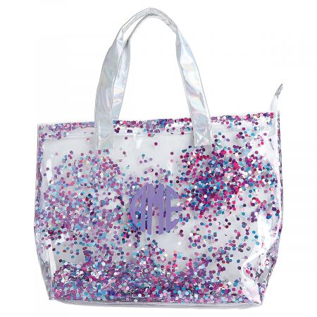 Personalized Extra Large Confetti Totes