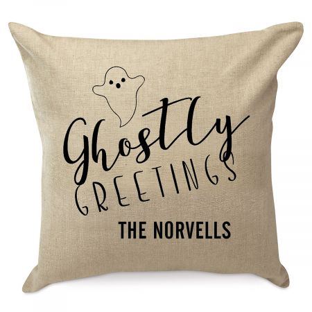 Personalized Halloween Ghost Pillow