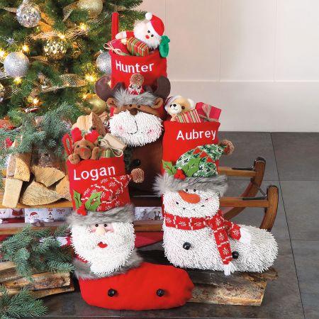 Personalized Woodsy Pal Santa Stocking