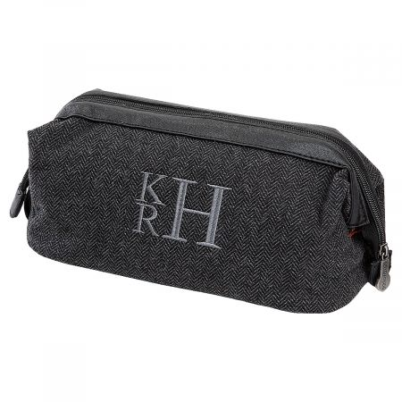 Personalized Grey Shave Kit