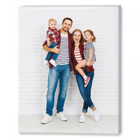 Portrait Photo Canvas