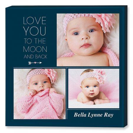 Love You Collage Photo Canvas Lillian Vernon