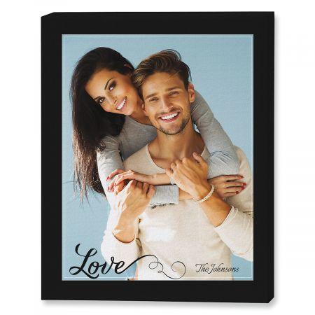 Love Portrait Photo Canvas