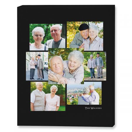 Family Name Gallery Photo Canvas