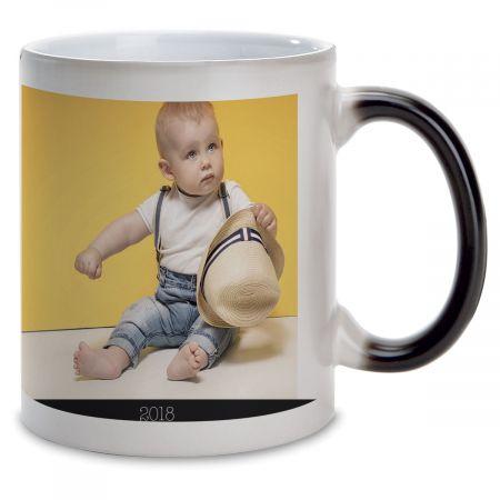 I Love Ceramic Photo Mug