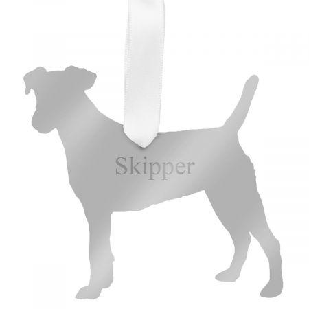 Personalized Acrylic Dog Ornament