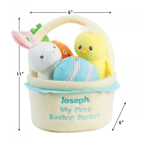 Personalized My First Easter Basket Playset by Gund®