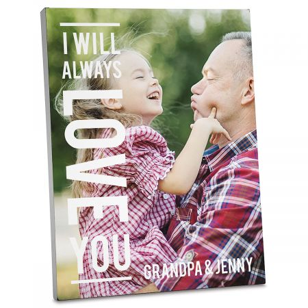 Always Love Photo Plaque