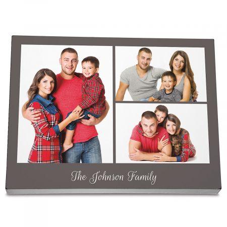 Family Name Photo Plaque
