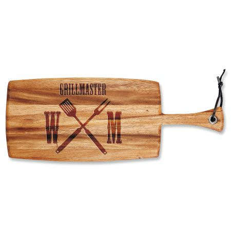 Personalized Grillmaster Paddle Cutting Board