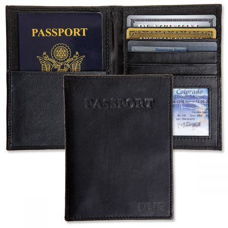 Personalized RFID Passport Wallet
