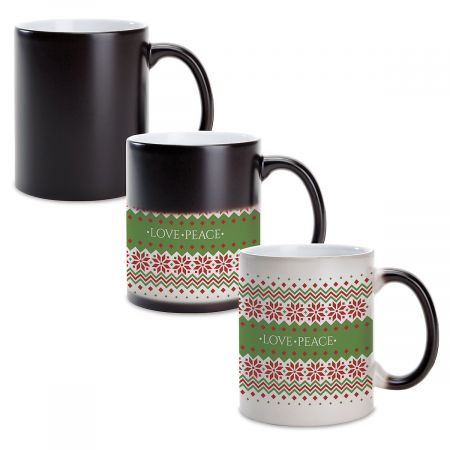 Sweater Pattern Personalized Ceramic Mug