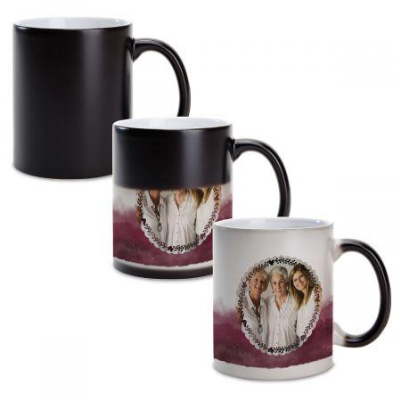 Watercolor Ceramic Photo Mug
