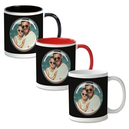 The Man Ceramic Photo Mug
