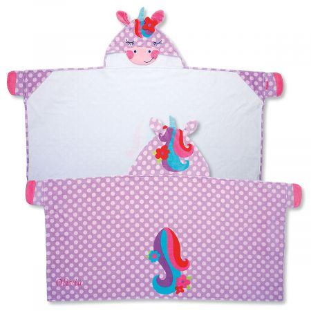 Personalized Hooded Unicorn Towel by Stephen Joseph®