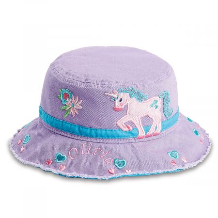 Personalized Unicorn Bucket Hat by Stephen Joseph®