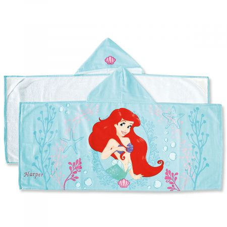 Personalized Ariel Hooded Towel
