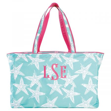Personalized Sea Star XLarge Tote