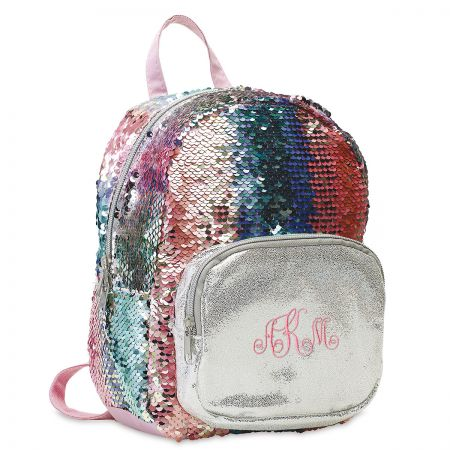 Personalized Magic Sequins Mini Backpack