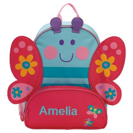 cf4f89afe9bd Personalized Butterfly Backpack by Stephen Joseph® | Lillian Vernon