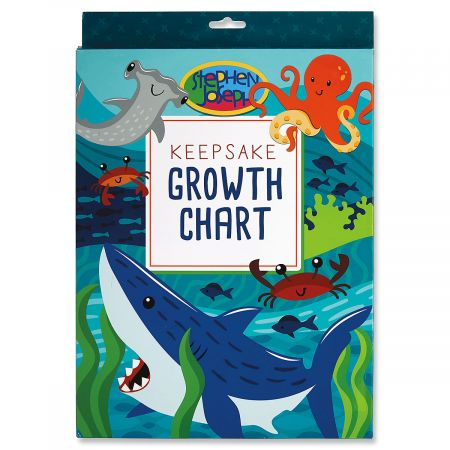 Personalized Shark Growth Chart by Stephen Joseph®