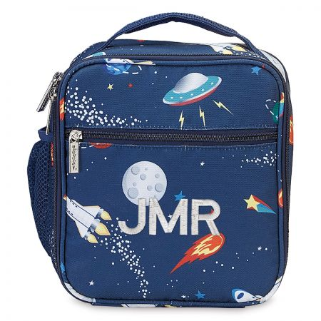Personalized Space Lunch Tote