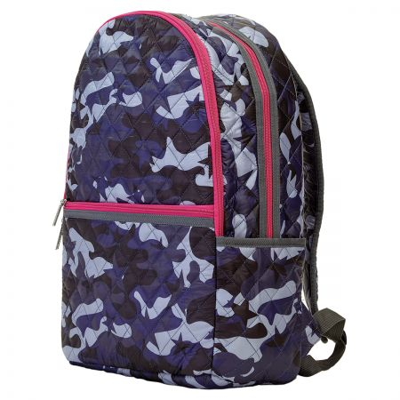 Personalized Midnight Blue Camo Backpack
