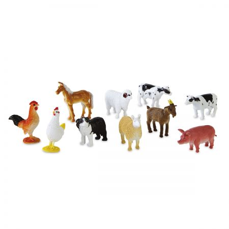 Personalized 60-Piece Farm Animal-in-a-Case