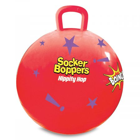 Hippity Hop >> Red Stars Hippity Hop Ball Lillian Vernon
