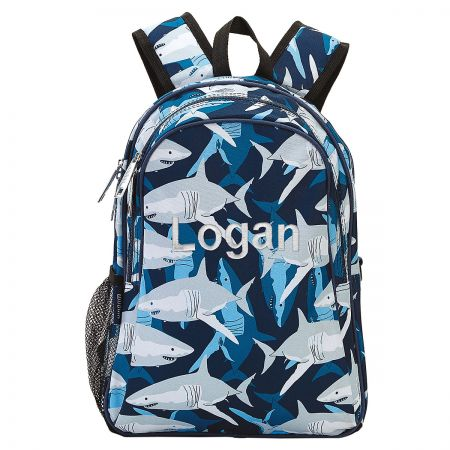 Personalized Shark Backpack