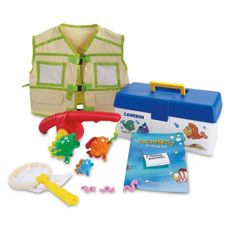 Personalized Pretend & Play Fishing Set