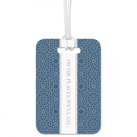 Oh The Places We'll Go Luggage Tag