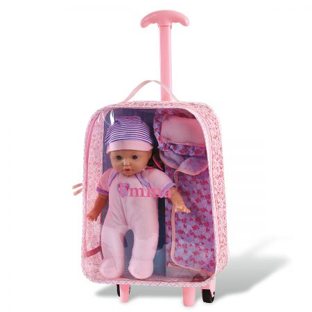 Personalized Pack'N Play Baby Doll