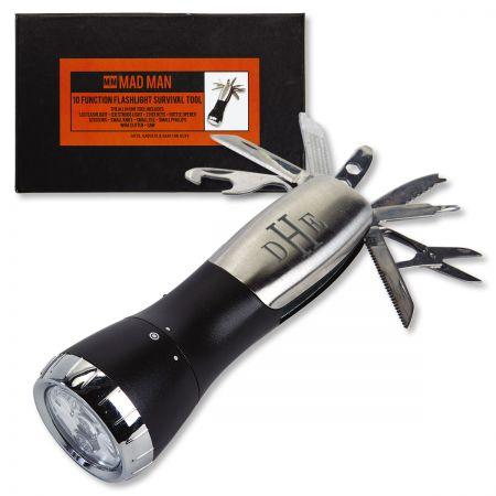 Personalized Flashlight Survival Tool