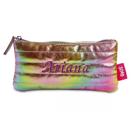 Personalized Cosmic Rainbow Pouch